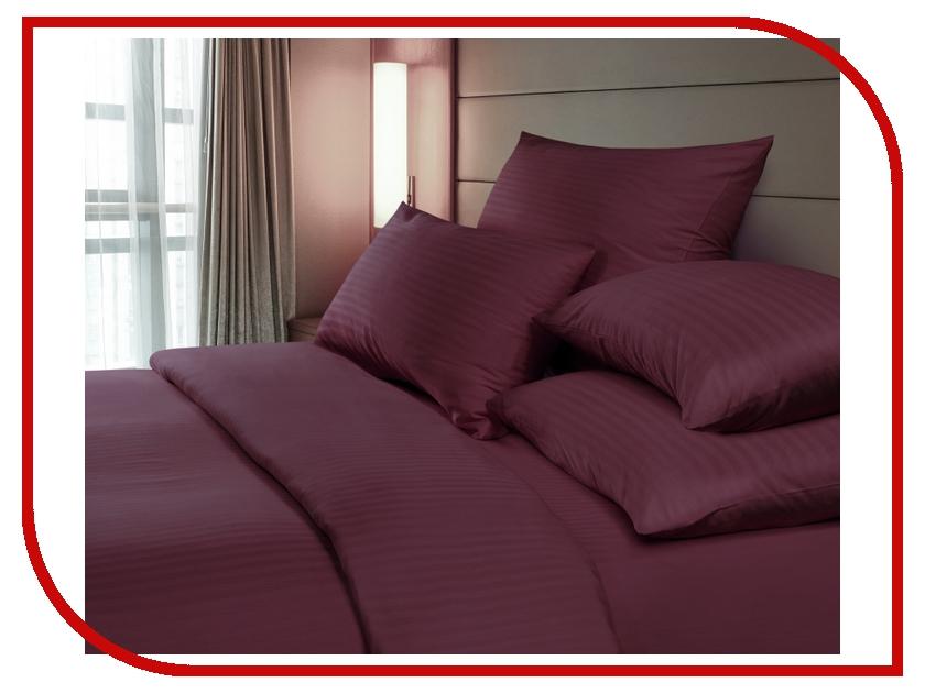 Постельное белье Verossa Комплект 1.5 спальный Страйп Bordo 718971 постельное белье эго комплект 1 5 спальный полисатин