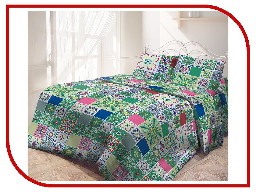 Постельное белье Самойловский текстиль Касабланка Комплект Евро Бязь 714209 касабланка