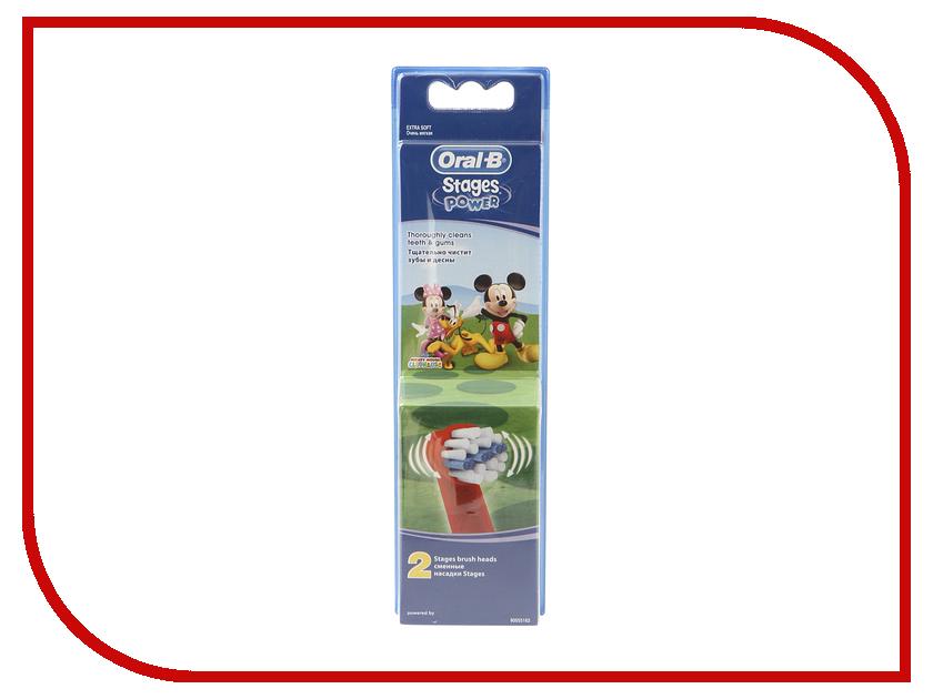 Сменная насадка Braun Oral-B Stages Power EB10K / EB10-2 Kids Disney Микки Маус