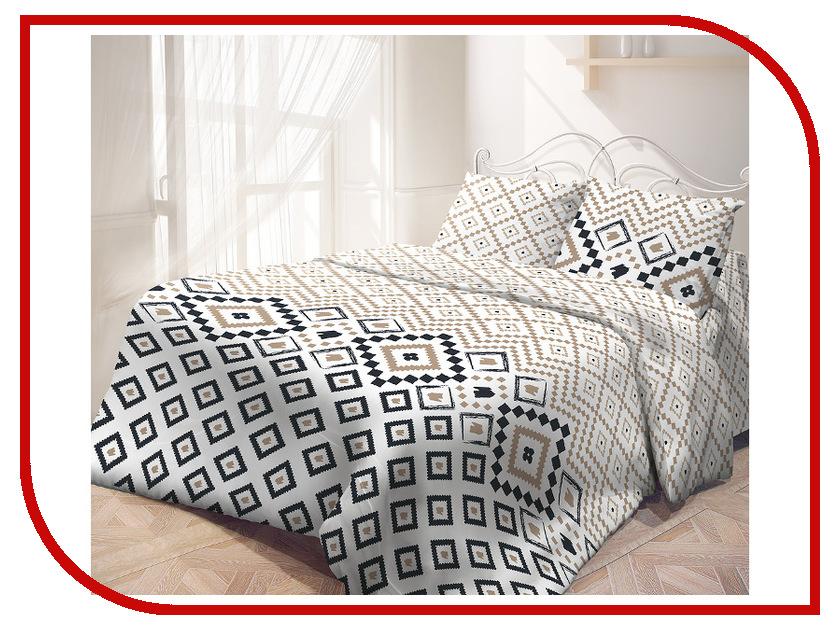 Постельное белье Самойловский текстиль Рейкьявик Комплект Евро Бязь 714220 постельное белье самойловский текстиль ноктюрн комплект евро бязь 714231