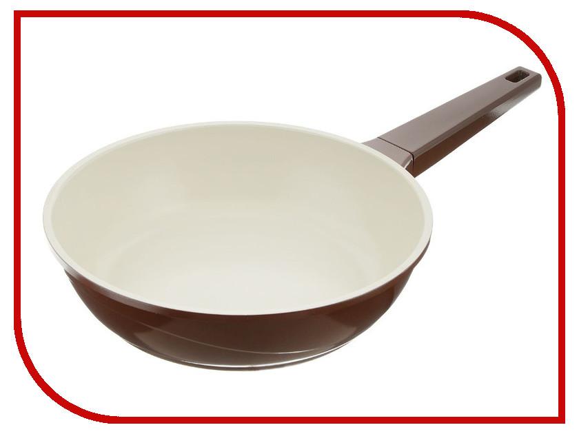 Сковорода Biostal Bio-FPD-24 24 см Brown-Beige биойогурт bio баланс злаки 1 5%