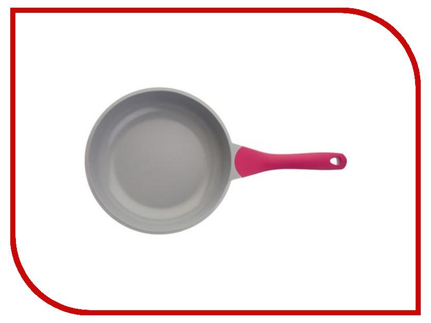 Сковорода Biostal Bio-FP-28 28 см Lilac-Grey