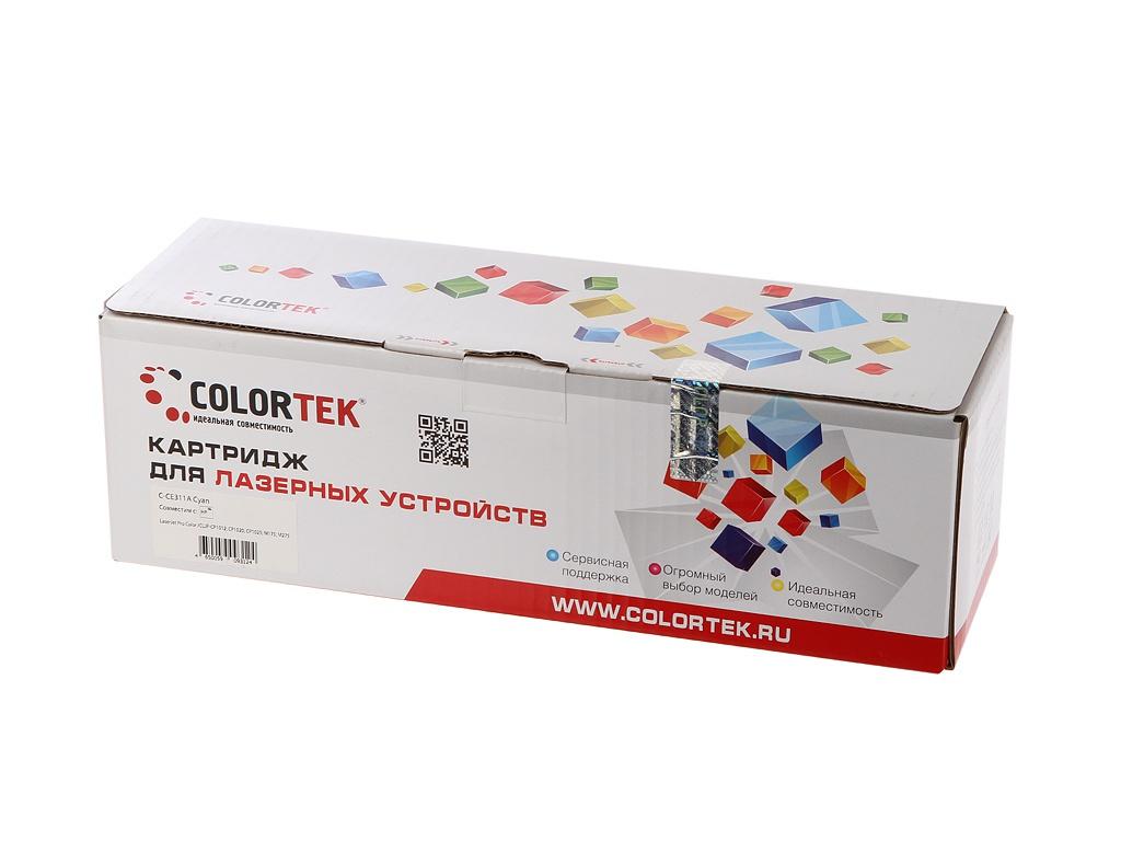цена на Картридж Colortek CE311A (126A) Cyan для HP LJ Pro CP1025/100 M175