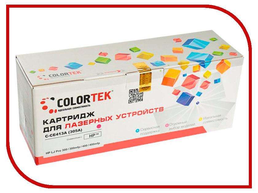 Картридж Colortek CE413A (305A) Magenta для HP LJ Pro 300 M351a/M375nw/400 M475dw/400 M451nw картридж для принтера и мфу hp ce413a magenta