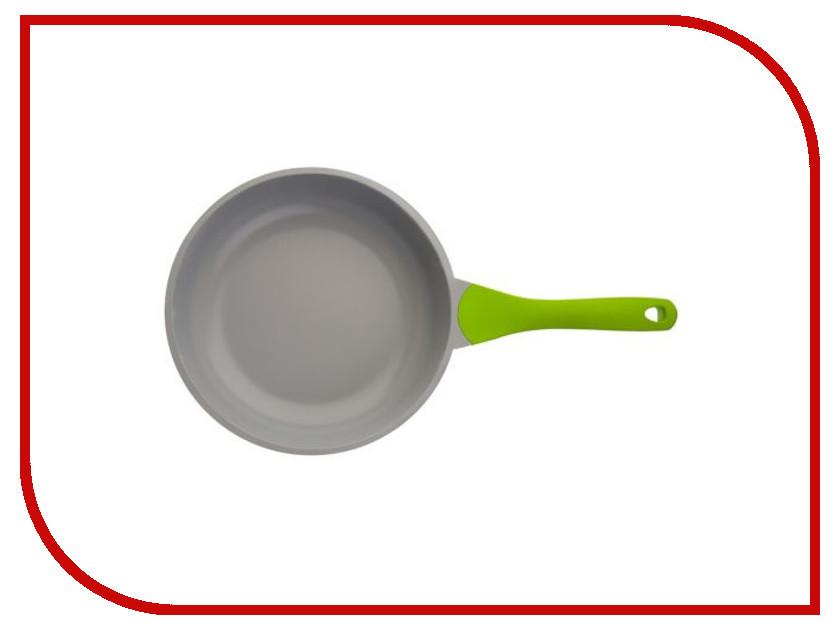 Сковорода Biostal Bio-FP-24 24 см Light Green-Grey