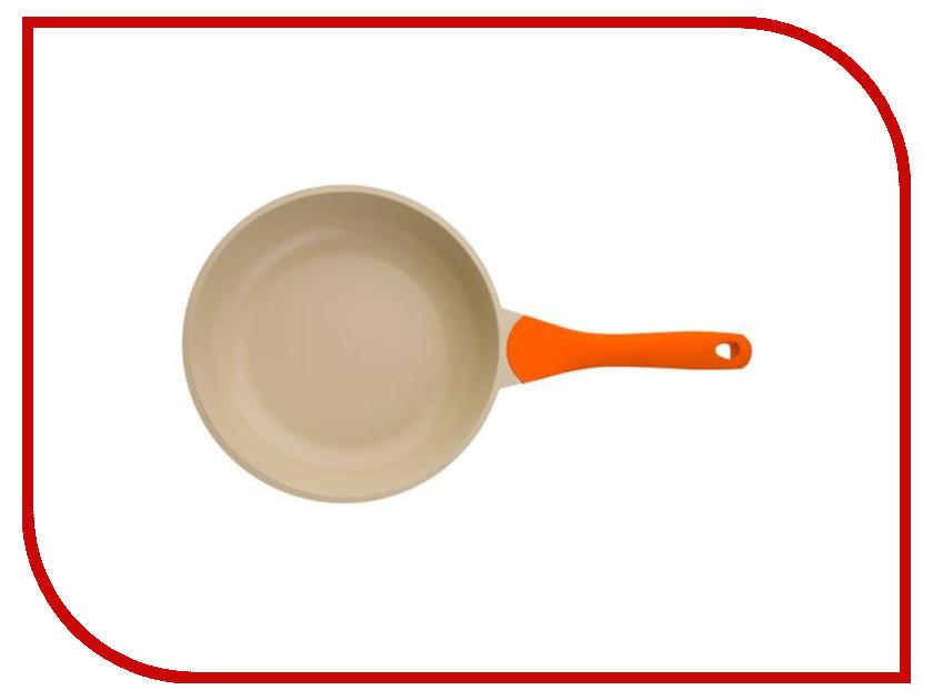 Сковорода Biostal Bio-FP-24 24 см Orange-Beige
