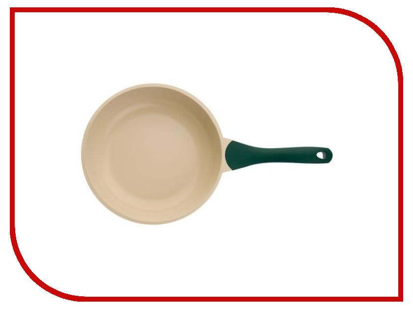 Сковорода Biostal Bio-FP-24 24 см Green-Beige