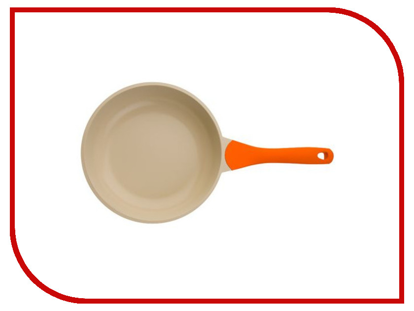 Сковорода Biostal Bio-FP-20 20 см Orange-Beige clymene 20 20 20