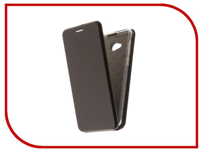 Аксессуар Чехол-флип для BQ BQ-5340 Choice эко кожа + Silicone Black сотовый телефон bq bq 5340 choice black