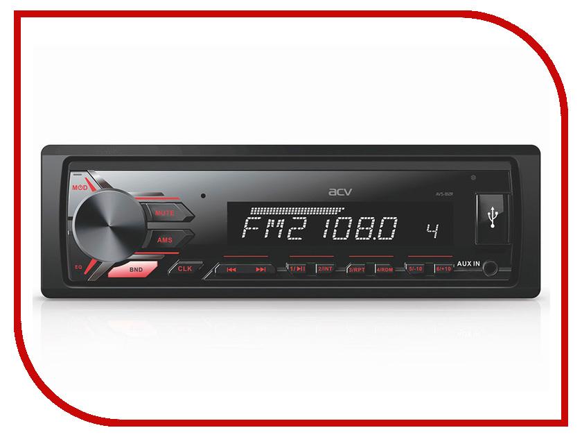 Автомагнитола ACV AVS-812R Red avs cd605d 43210
