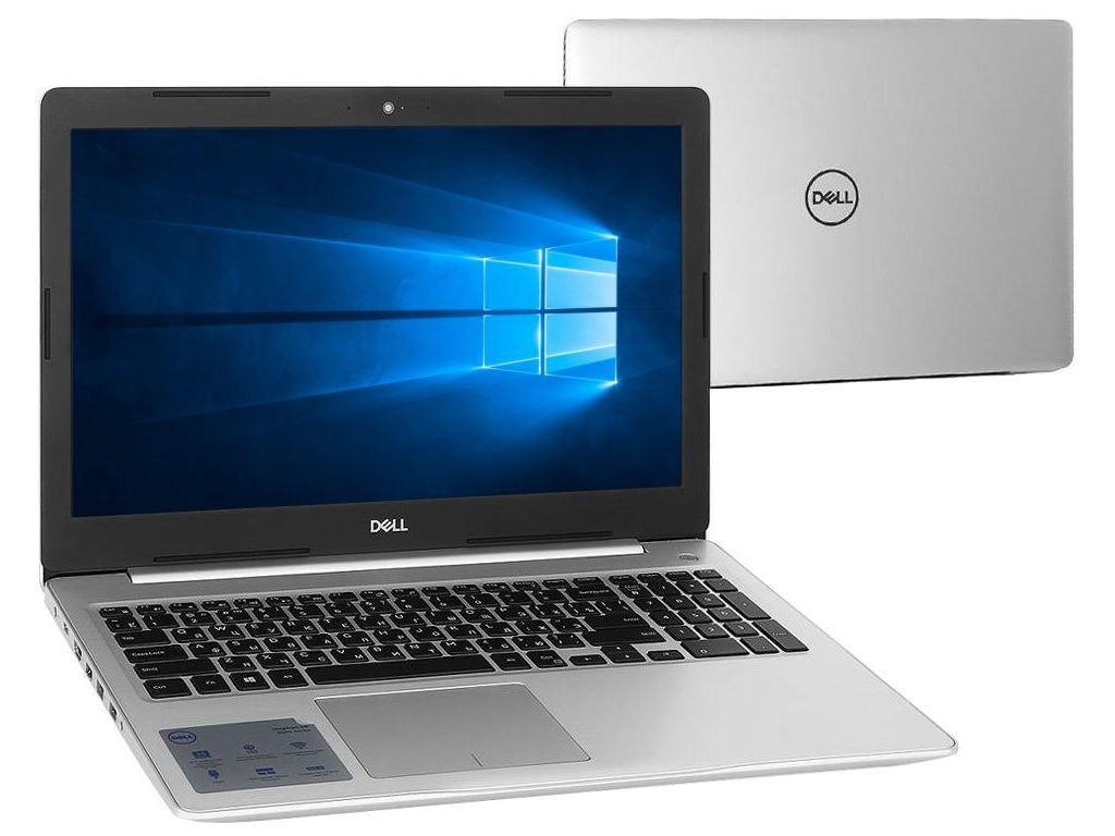 Ноутбук Dell Inspiron 5570 5570-7840 (Intel Core i5-8250U 1.6 GHz/4096Mb/1000Gb/DVD-RW/AMD Radeon 530 2048Mb/Wi-Fi/Bluetooth/Cam/15.6/1920x1080/Windows 10 64-bit)