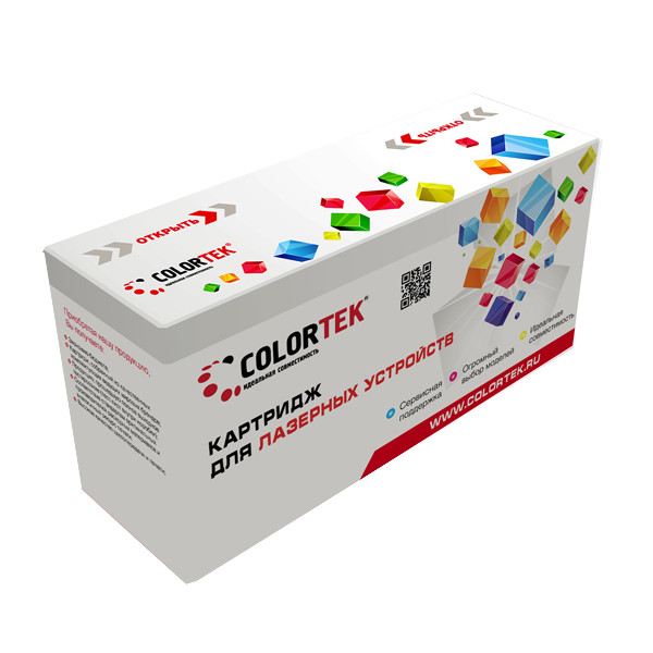 Картридж Colortek CLT-Y406S Yellow для Samsung CLX-3300/3305; CLP-360/365 цена