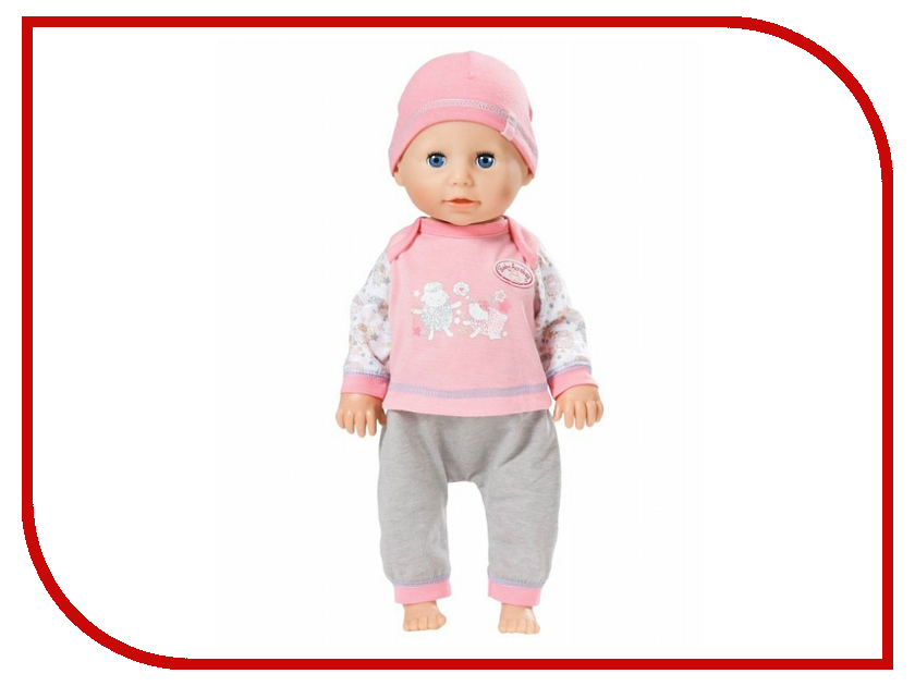 Кукла Zapf Creation Baby Born Учимся ходить, 43 см, 700-136