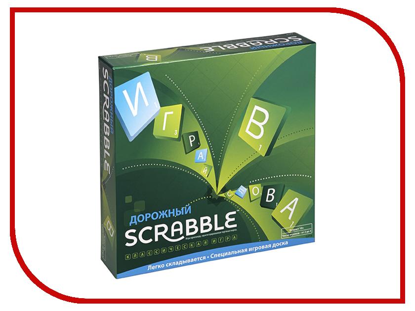 Настольная игра Mattel Scrabble Дорожный CJT18 настольная игра scrabble классический
