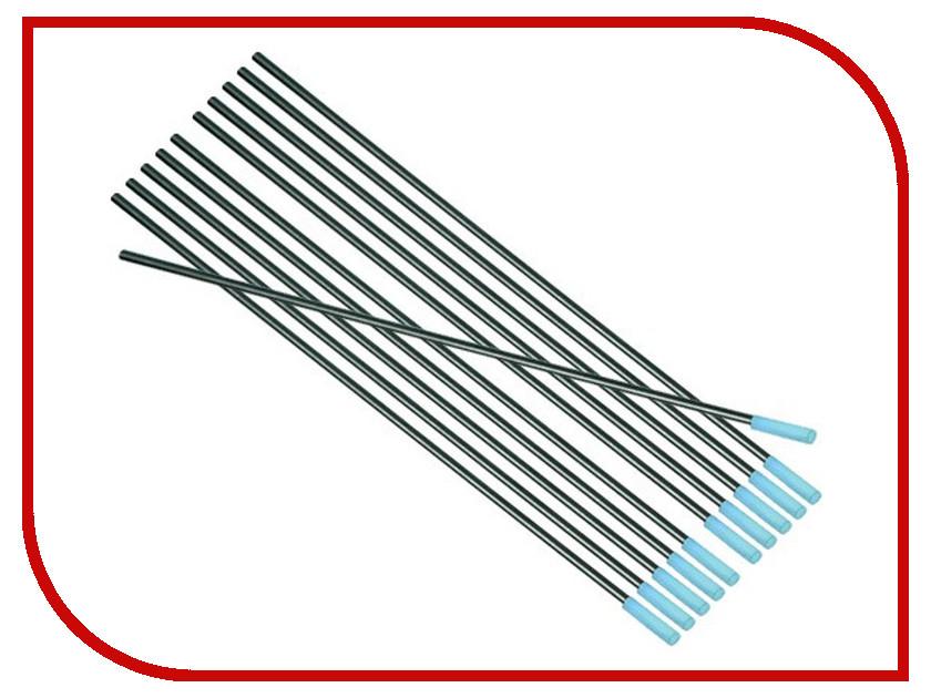 цена на Аксессуар Электрод FoxWeld WL-20 2.0/175mm (10шт)