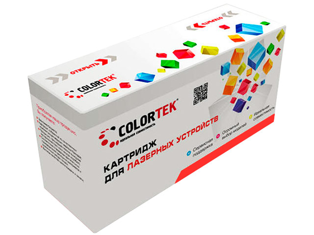 Картридж Colortek 723 Black для Canon LBP-7750