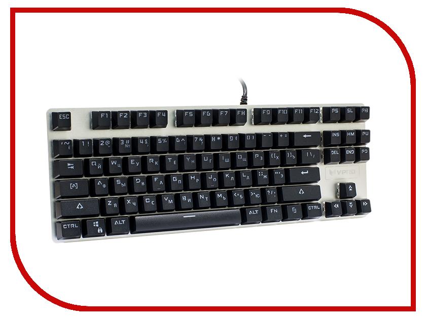 Клавиатура Rapoo V500 Alloy Blue Switch Black клавиатура rapoo v500 alloy blue switch black