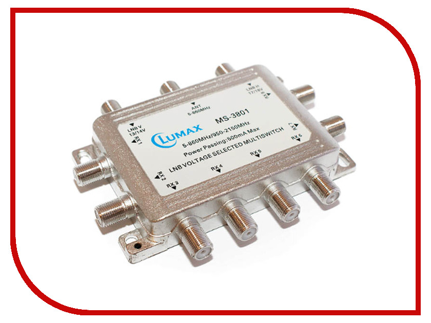 Мультисвитч Lumax MS-3801