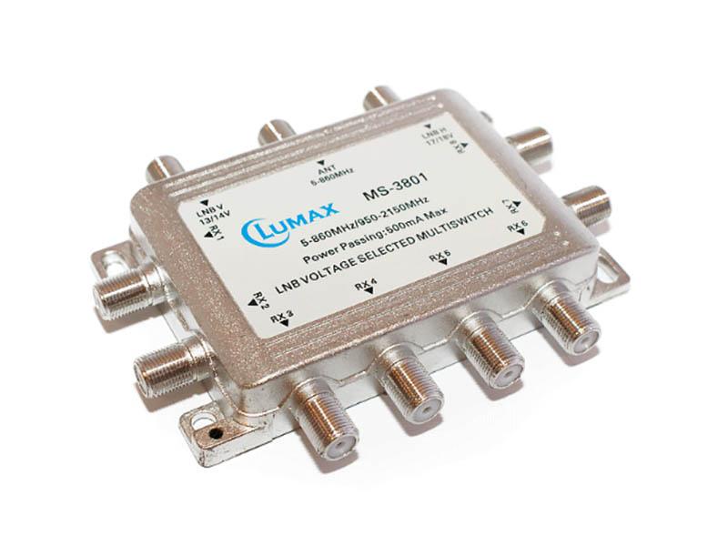 цена на Мультисвитч Lumax MS-3801