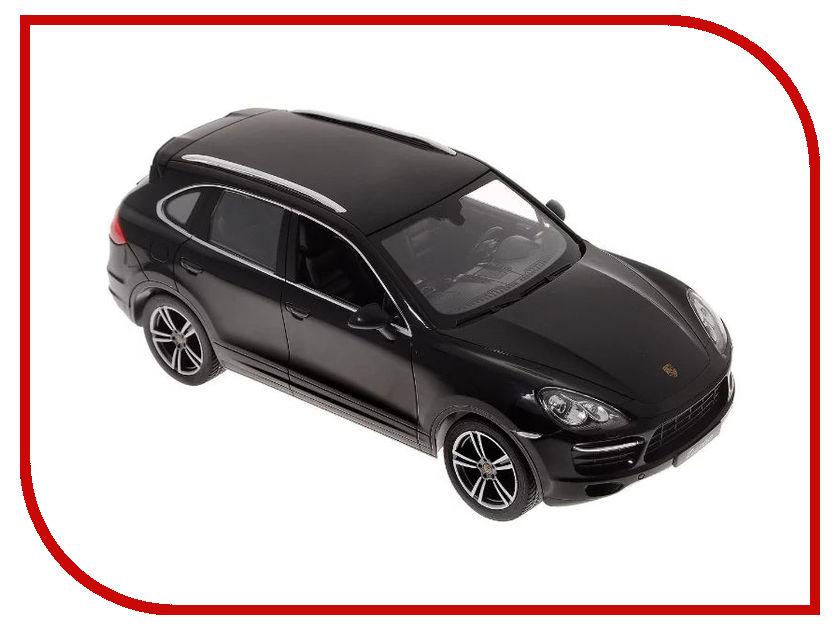 Игрушка Rastar Porsche Cayenne Turbo 1:14 42900 Black rastar rastar радиоуправляемый автомобиль porsche cayenne turbo масштаб 1 14 в ассортименте