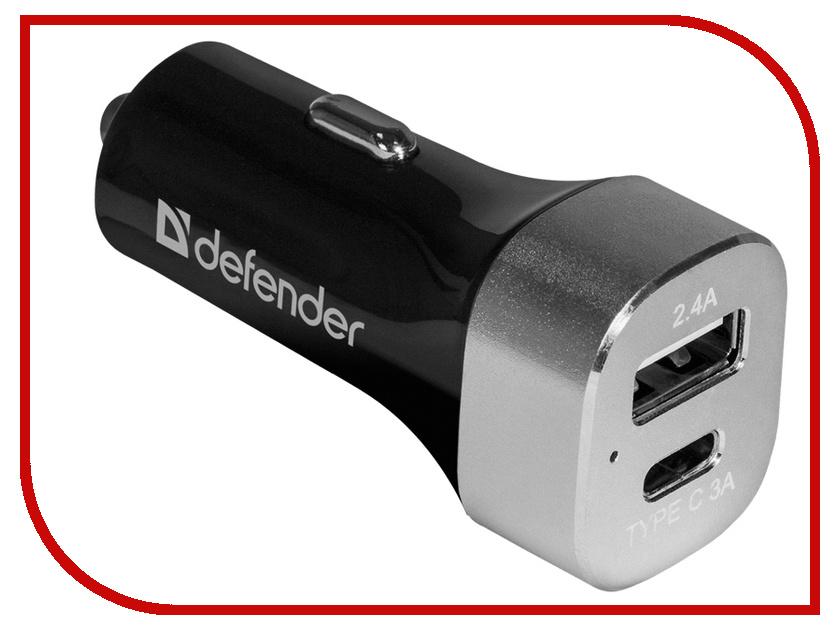 Картинка для Зарядное устройство Defender UCG-01 1xUSB + Type C 83569
