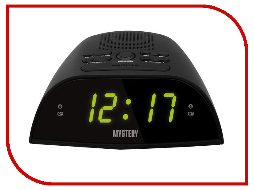 Часы Mystery MCR-48 радиоприемник mystery mcr 66 silver
