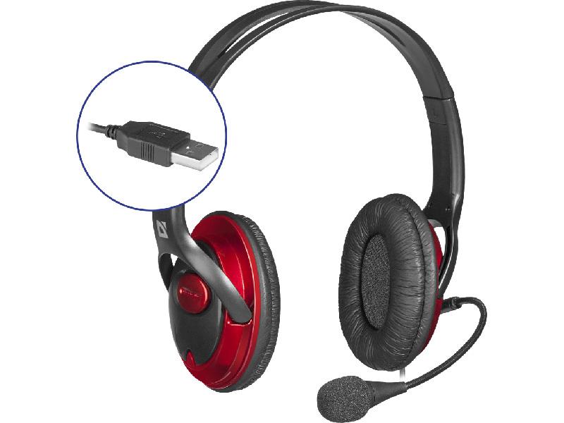 Defender Phoenix 875U USB Black-Red 63876