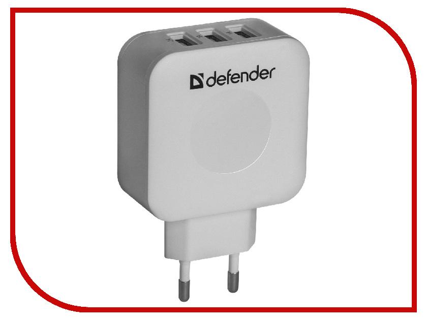 Зарядное устройство Defender UPA-30 3xUSB 83535 зарядное