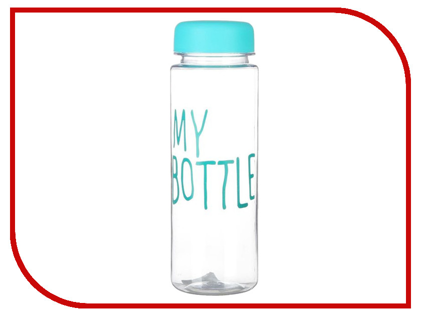 Бутылка СИМА-ЛЕНД My Bottle 500ml Blue 2463601 usb rechargeable 500ml healthy portable hydrogen rich water cup transparent glass bottle with lid