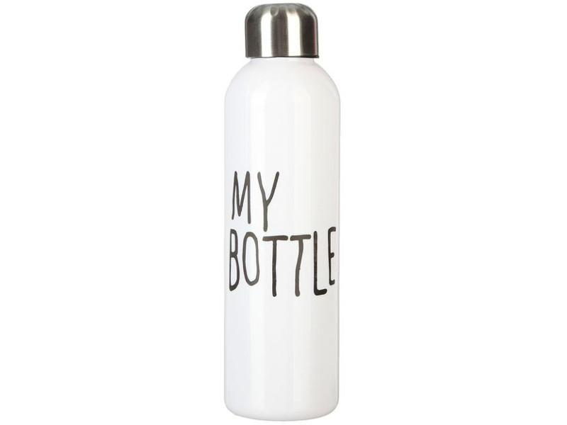 цена Бутылка СИМА-ЛЕНД My Bottle 500ml White 2463604 онлайн в 2017 году