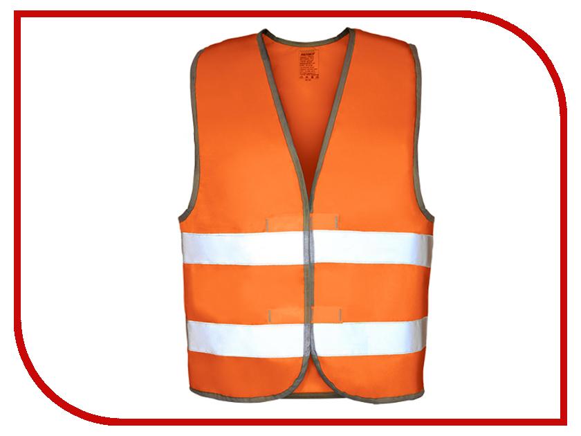 Жилет сигнальный, светоотражающий Orange ЖИЛ009О - от S до XL жилет airline 5254 arw av 04 orange от s до xl