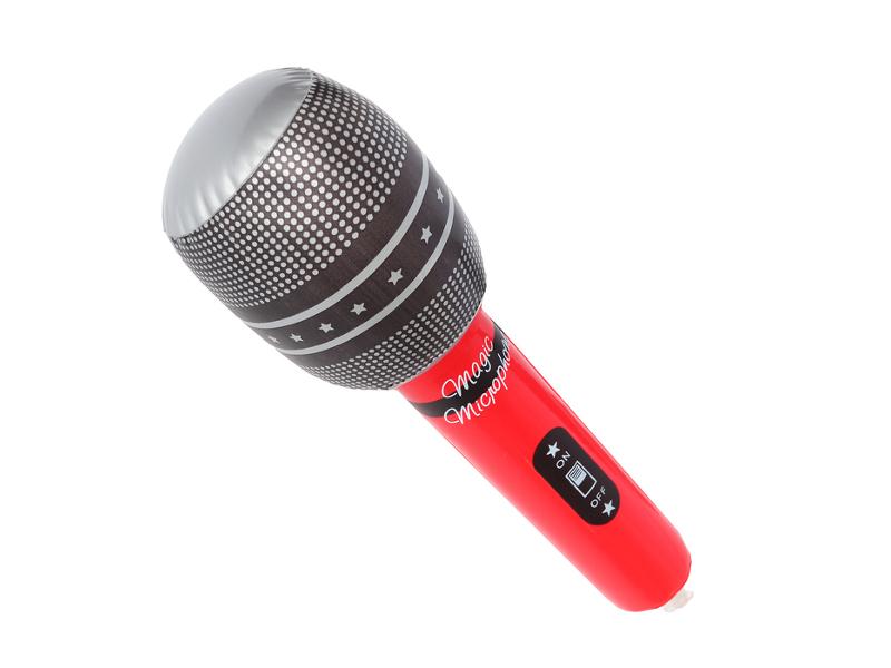 Надувная игрушка Onlitop Микрофон 679514
