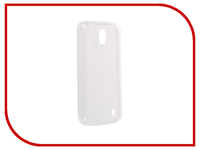 Аксессуар Чехол для Nokia 1 Zibelino Ultra Thin Case White ZUTC-NOK-1-WHT 1000pcs lot electronic components abs10 abs10 mark abs10 sop 4 ultra thin 1a 1000v rectifier bridge original new special sales