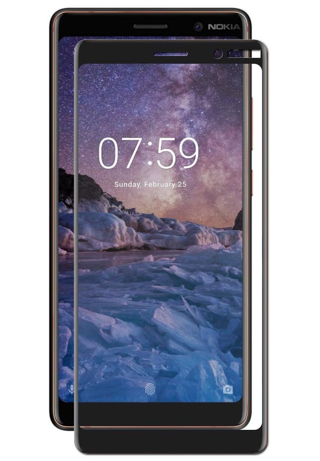 купить Аксессуар Защитное стекло Zibelino для Nokia 7 Plus TG Full Screen 0.33mm 2.5D Black ZTG-FS-NK-7PL-BLK по цене 431 рублей