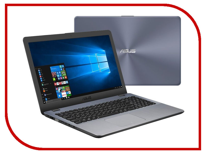 Ноутбук ASUS VivoBook X542UA-GQ573T 90NB0F22-M07700 (Intel Pentium 4405U 2.1 GHz/4096Mb/1000Gb/DVD-RW/Intel HD Graphics/Wi-Fi/Bluetooth/Cam/15.6/1366x768/Windows 10 64-bit) ноутбук asus x542ua 90nb0f22 m02560 90nb0f22 m02560
