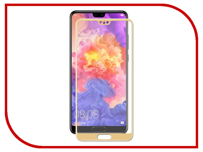 Аксессуар Защитное стекло Huawei P20 Zibelino TG Full Screen 0.33mm 2.5D Gold ZTG-FS-HUA-P20-GLD аксессуар защитное стекло huawei nova lite 2017 zibelino tg full screen 0 33mm 2 5d white ztg fs hua nov lit wht