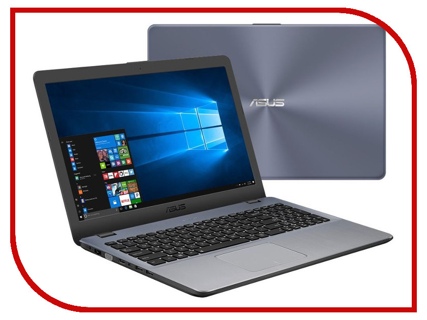 Ноутбук ASUS VivoBook X542UR-DM055T 90NB0FE2-M00570 (Intel Core i5-7200U 2.5 GHz/4096Mb/1000Gb/DVD-RW/nVidia GeForce 930MX 2048Mb/15.6/Wi-Fi/Bluetooth/Cam/1920x1080/Windows 10 64-bit) моноблок asus vivo aio v220iagk ba014x 21 5 led core i3 5005u 2000mhz 4096mb hdd 1000gb nvidia geforce 930mx 2048mb ms windows 10 home 64 bit [90pt01p1 m00600]