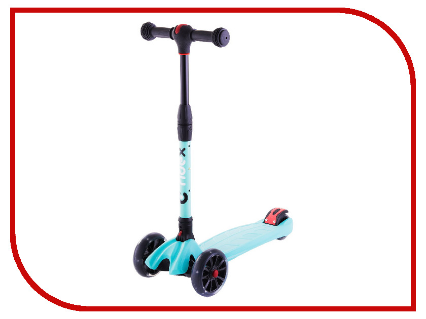 Самокат Ridex 3D Stark 135/90 Mint цена