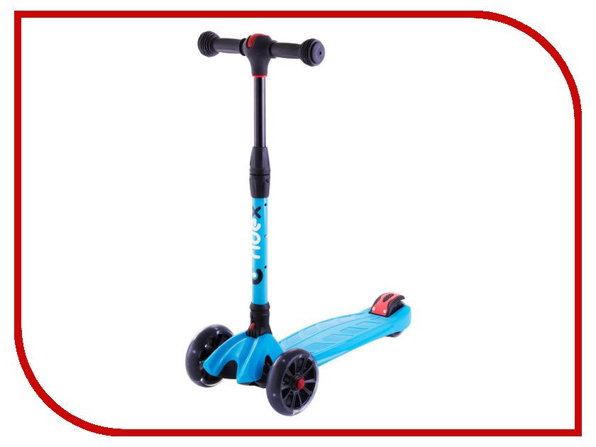 Самокат Ridex 3D Stark 135/90 Blue цена