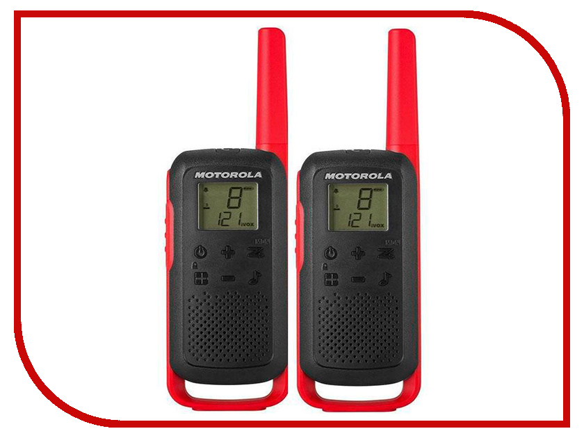 цены Рация Motorola Talkabout T62 Red
