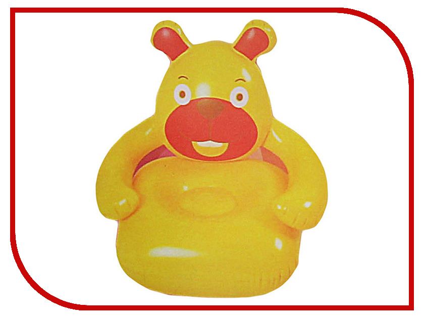 Надувная игрушка Onlitop Софа надувная детская Медвежонок 120851
