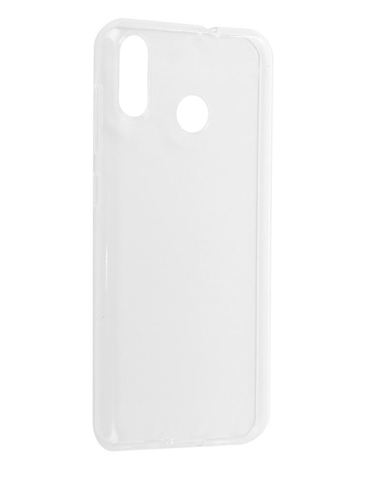 Аксессуар Чехол iBox для Asus Zenfone M1 Max ZB555KL Silicon Crystal Transparent