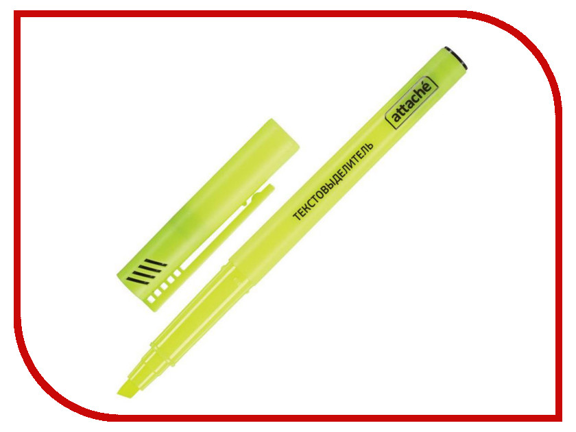 Маркер Attache 1-3mm Yellow 155801 neodymium nib magnet spheres 3mm 20 pack