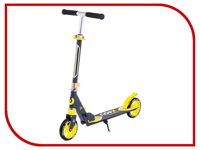 Самокат Ridex Neo 145 мм Black-Yellow