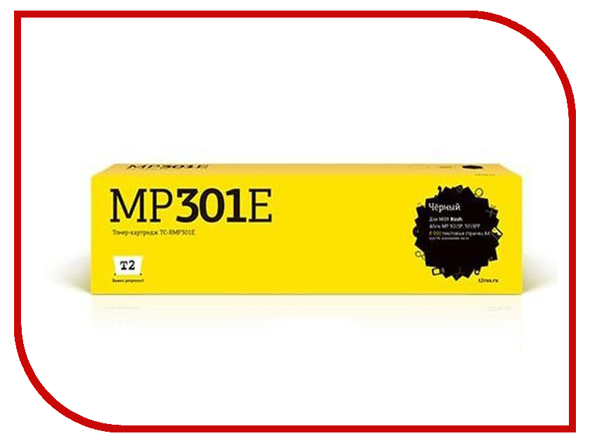 Картридж T2 TC-RMP301E Black для Ricoh Aficio MP 301SP/301SPF картридж для мфу t2 tc p411