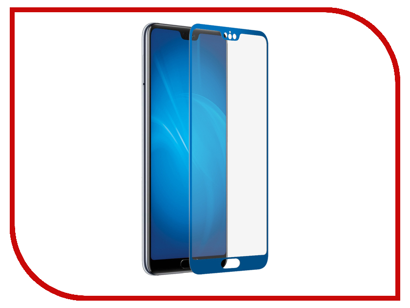 Аксессуар Защитное стекло для Huawei P20 Red Line Full Screen 3D Tempered Glass Blue УТ000015073 re useable plastic frame resin lens anaglyphic blue red 3d glasses
