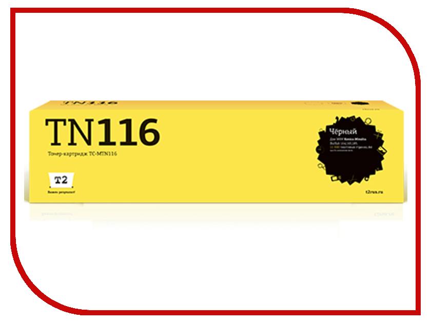 Картридж T2 TC-MTN116 для Konica-Minolta BizHub 164/165/185 elsotherm t 116