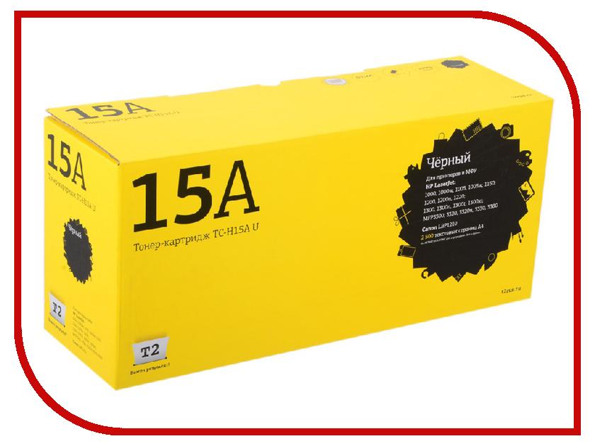 Картридж T2 TC-H15AU Black для HP LJ 1000/1150/1200/1300/Canon LBP1210 картридж для мфу t2 tc p411