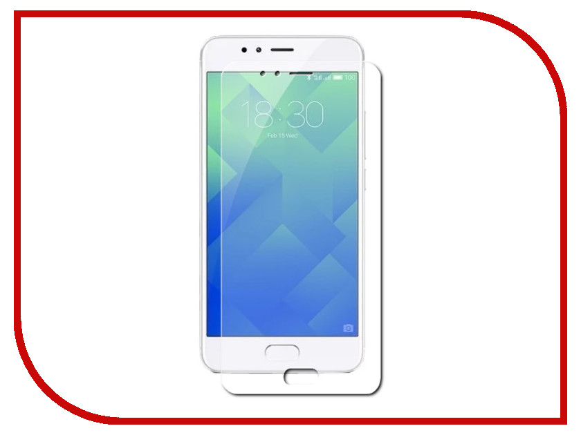 Аксессуар Защитная пленка для Meizu M5s 5.2 Red Line TPU Full Screen УТ000013497 100% tested for meizu m5s meilan 5s lcd mini display touch screen digitizer assembly replacement free shipping with tools as gift