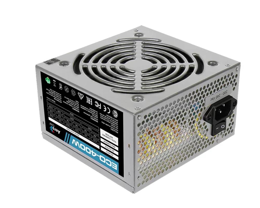 Блок питания AeroCool Eco 400W цена и фото